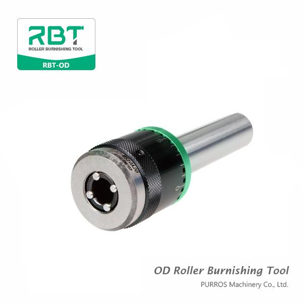 Gamma di alta qualità dell'utensile per la rullatura dei rulli estraibili (diametri esterni dell'utensile per la rullatura dei rulli) RBT-OD