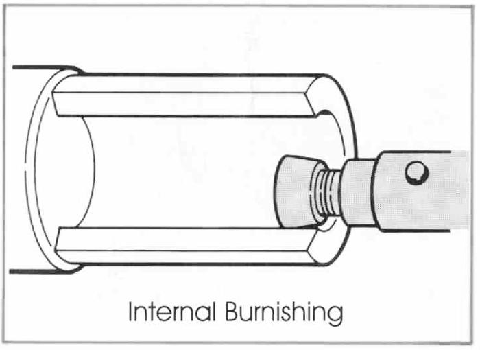 RBT Utensili per la lucidatura dei rulli a uso multi-uso interno Brunitura