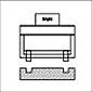 RBT Utensili per la lucidatura dei rulli Utensile per la lucidatura della scanalatura frontale