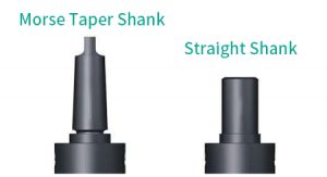 The handle type of roller burnishing tools: Morse Taper Shank, Straight Shank